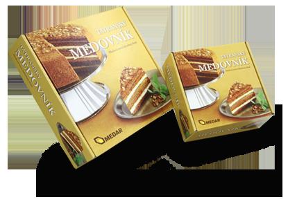 Tatranský medovník – ořechový